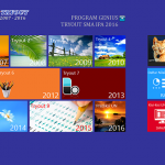 Halaman depan Software Edukasi Genius Tryout UN SMA IPA 2016
