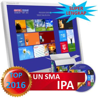 Genius Tryout UN SMA IPA 2016 Super Lengkap
